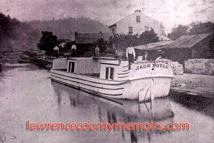 Lawrence County Memoirs: Beaver & Erie Canal - Lawrence