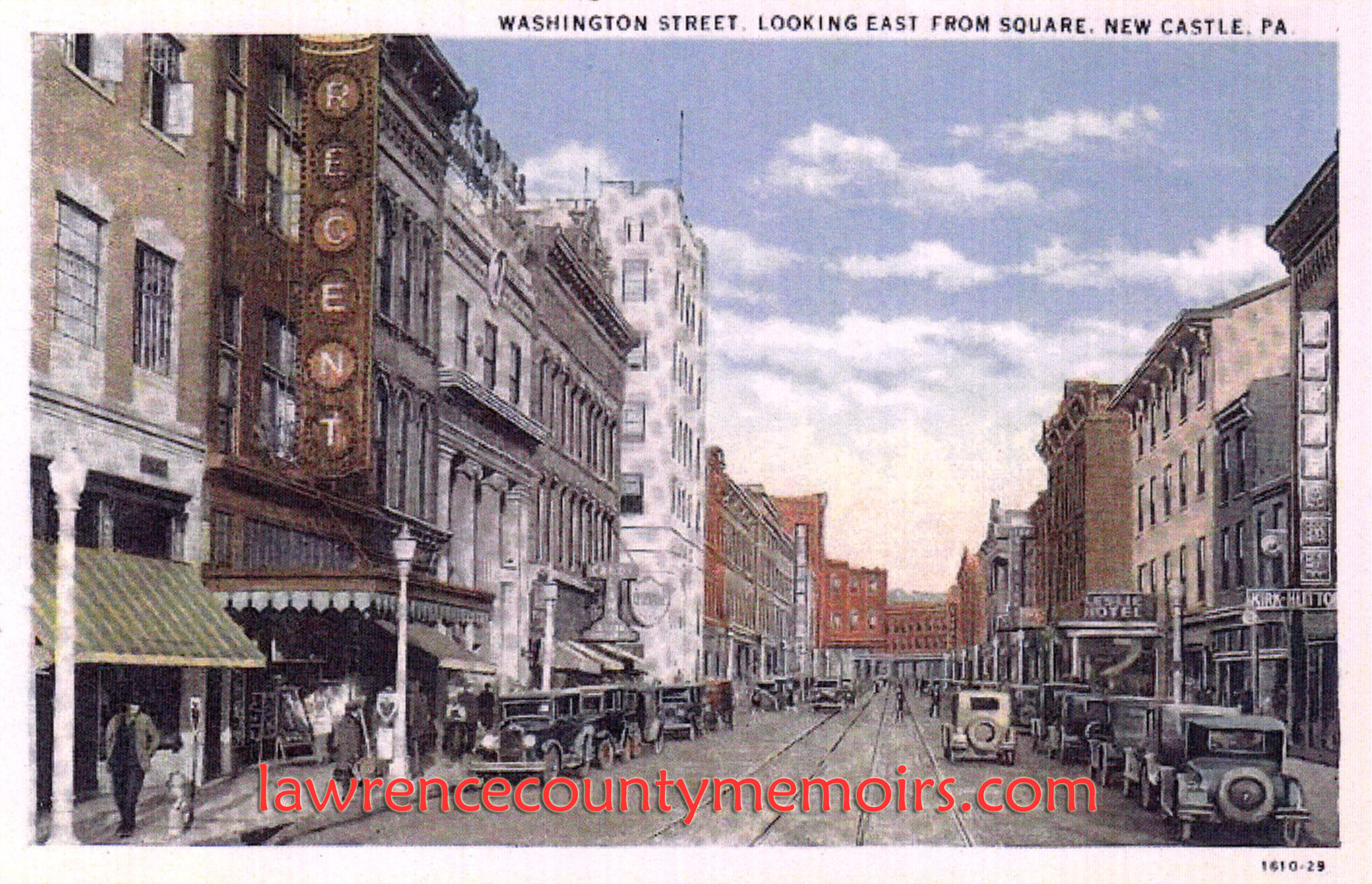 Lawrence County Memoirs  Regent Theater