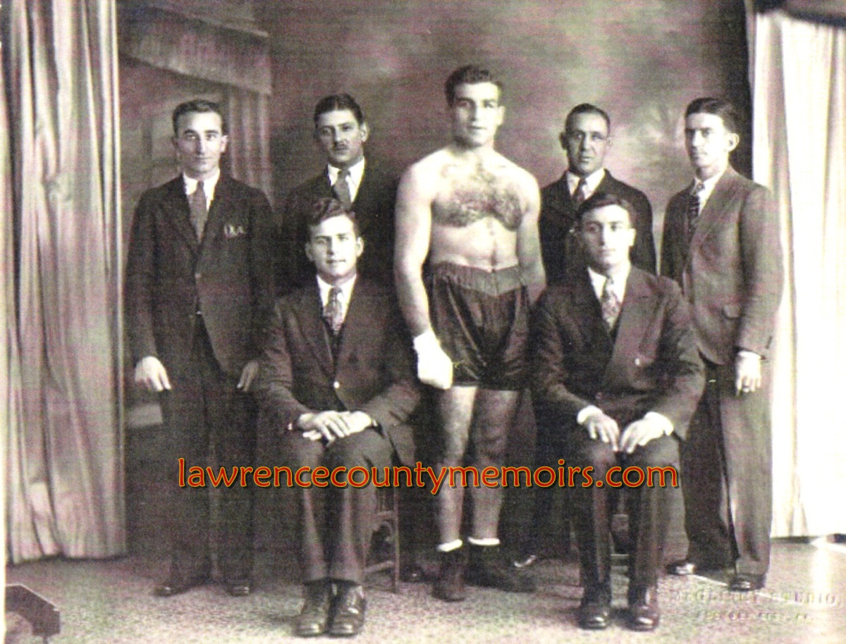 Lawrence County Memoirs: Boxer Emmett Rocco - Ellwood City PA