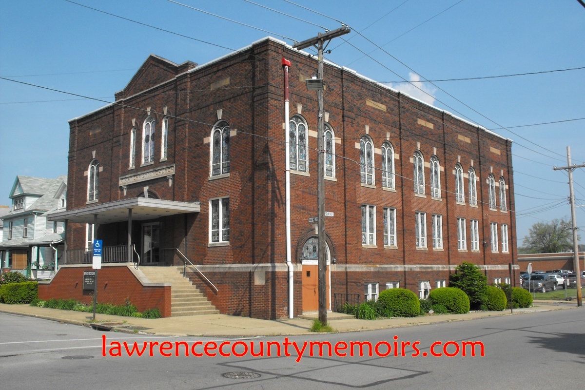 Lawrence county memoirs first christian church ellwood for Mcelwain motors ellwood city